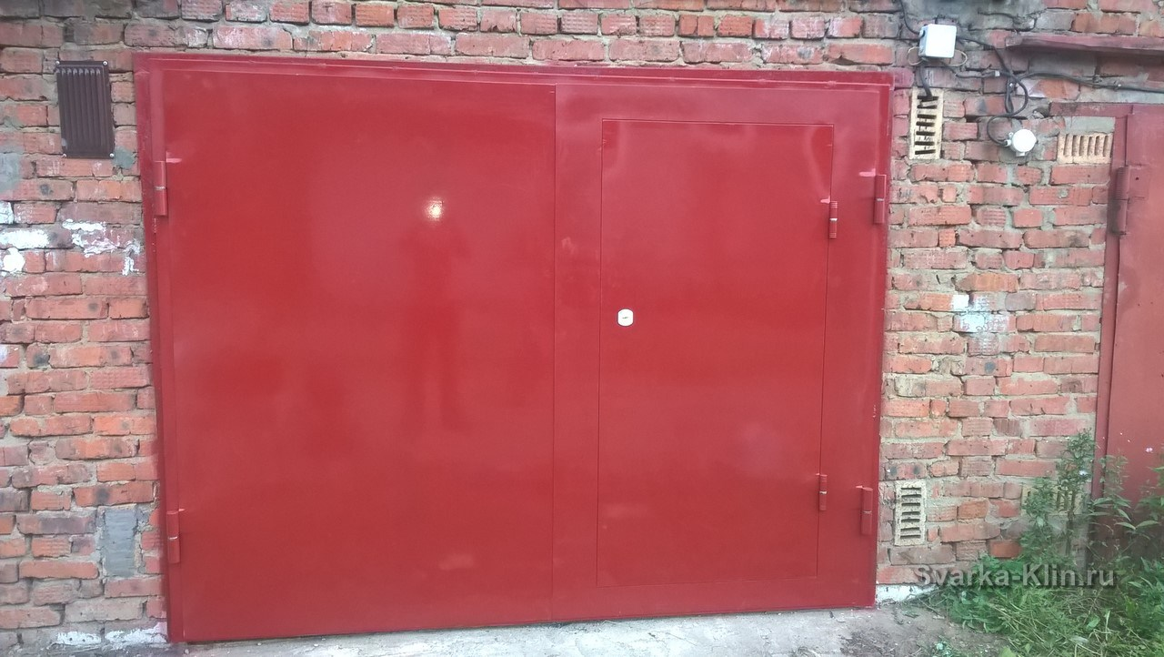 клинские двери металлические и гаражные ворота