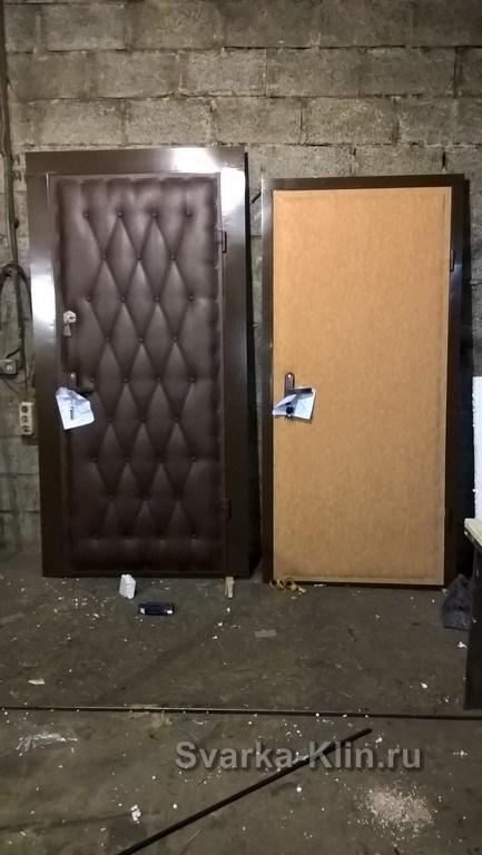 железные двери в московской